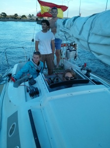 sailing on the Atlantic with Jordan and friends. uh, yes please